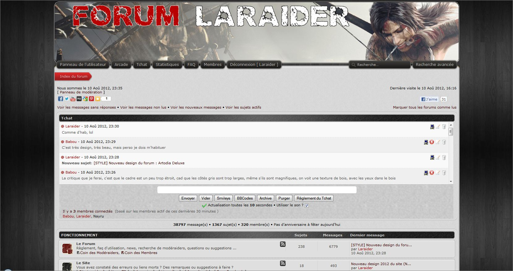 Стили и дизайны для форумов